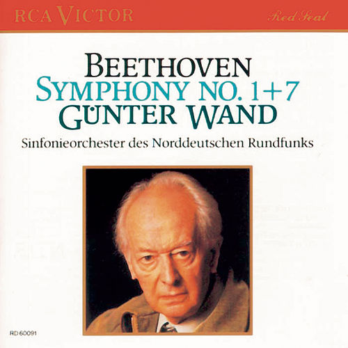 Beethoven: Sinfonien Nr. 1 & 7 by Günter Wand