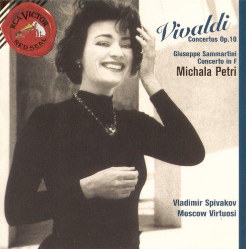 Vivaldi--Concertos Op.10/Sammartini--Concerto in F by Michala Petri