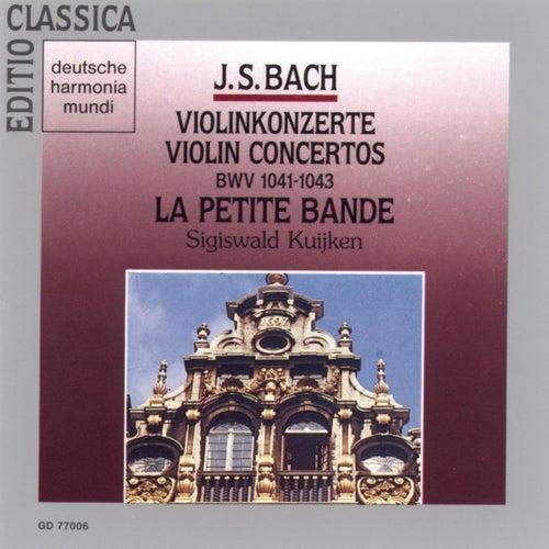 Bach, J.S.: Violin Concertos BWV 1041-1043 de Sigiswald Kuijken