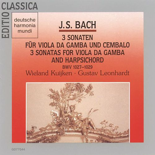 Bach: Viola Da Gamba Sonaten de Wieland Kuijken