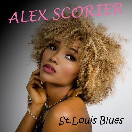 St Louis Blues Alex Scorier von Alex Scorier