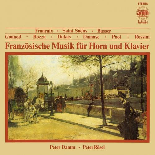 Französische Musik für Horn und Klavier de Peter Damm