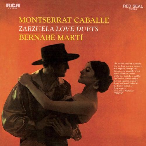 Zarzuela Love Duets by Montserrat Caballé