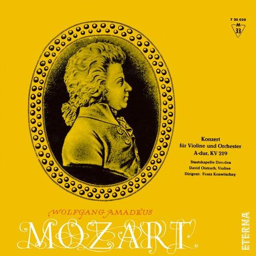 Mozart: Konzert für Violine und Orchester A-Dur, K. 219 by David Oistrakh
