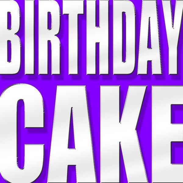 Superb Birthday Cake Origionally Performed By Rihanna Feat Chris Brown Funny Birthday Cards Online Drosicarndamsfinfo