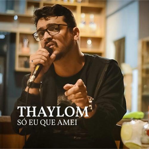 Só Eu Que Amei (Remix) de Thaylom