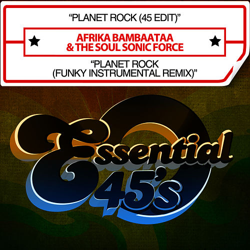 Planet Rock (Digital 45) by Afrika Bambaataa