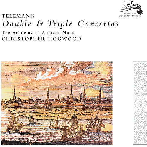 Telemann: Double & Triple Concertos de Academy Of Ancient Music (1)