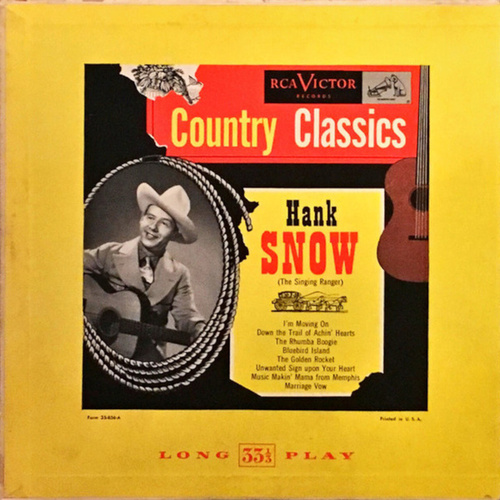 Country Classics by Hank Snow