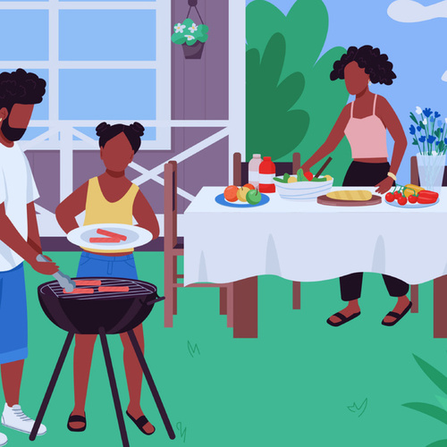 pov: ur at a cookout by Various Artists