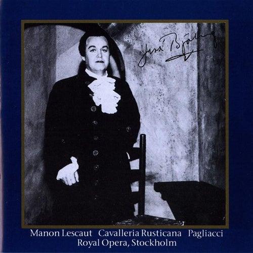 Bjorling, Jussi: Manon Lescaut, Cavallerina Rusticana & Pagliacci (1954, 1959) by Jussi Bjorling