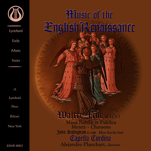 Music of the English Renaissance by Capella Cordina