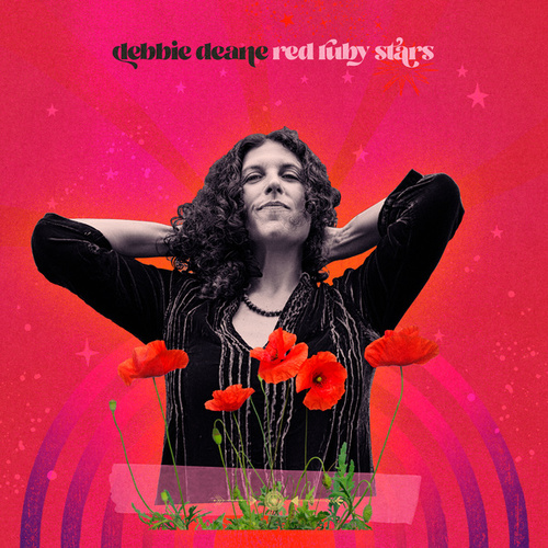 Red Ruby Stars by Debbie Deane