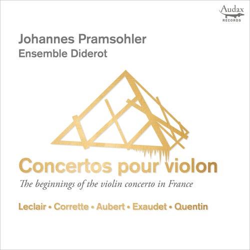 Concertos pour violon by Johannes Pramsohler