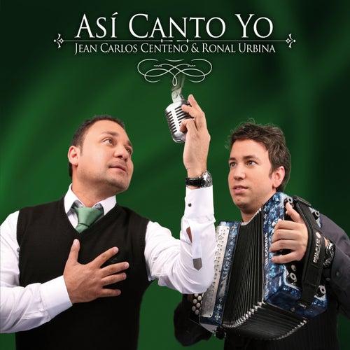 Así Canto Yo de Jean Carlos Centeno