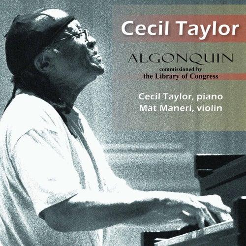 Taylor: Algonquin (Live) de Cecil Taylor