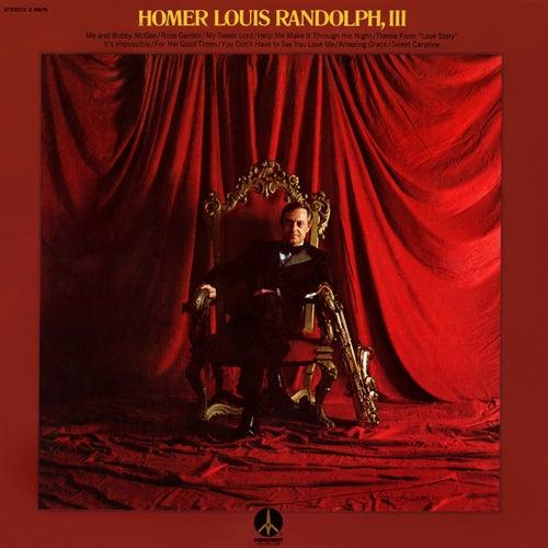 Homer Louis Randolph, III de Boots Randolph