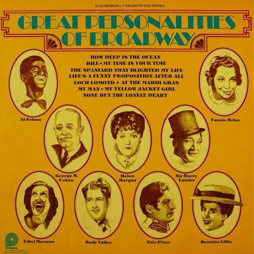 Great Personalities Of Broadway de Various Artists