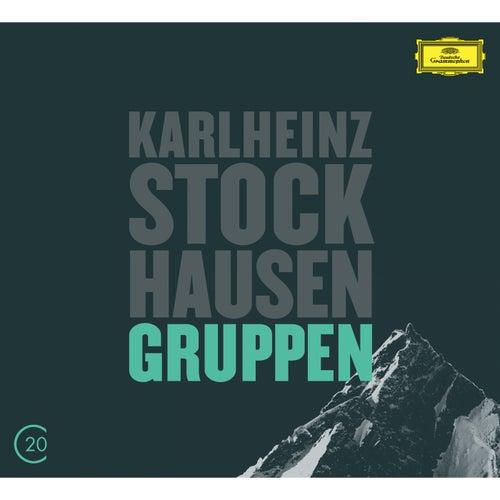 Kurtág: Grabstein für Stephan, Op. 15; Stele, Op. 33; Stockhausen: Gruppen fra Berliner Philharmoniker