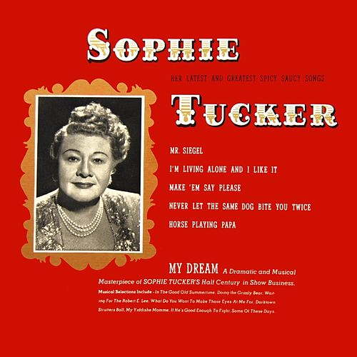 My Dream de Sophie Tucker