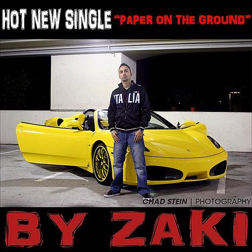 Paper On the Ground - Single de Zaki