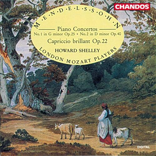 Mendelssohn: Piano Concertos by Howard Shelley