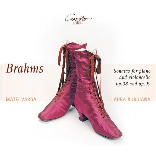 Brahms: Cello Sonatas Nos. 1 & 2 de Laura Buruiana