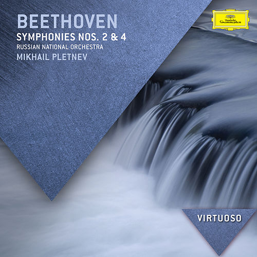 Beethoven: Symphonies Nos.2 & 4 by Russian National Orchestra