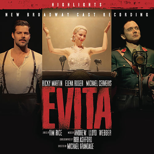 Evita - New Broadway Cast Recording by New Broadway Cast of Evita (2012)