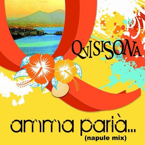 Amma paria' (Napule mix including: Dicitencello vuie / 'o sarracino / malafemmena / oi mari' / tamurriata nera / 'o sole mio / 'o surdate nnammurate / caravan petrol / luna rossa) by Quisisona