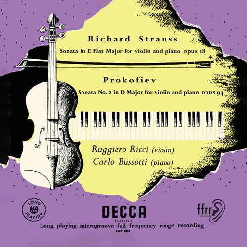 R. Strauss: Violin Sonata; Prokofiev: Violin Sonata No. 2 (Ruggiero Ricci: Complete Decca Recordings, Vol. 14) von Ruggiero Ricci
