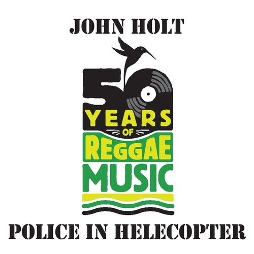 Police In Helecopter by John Holt