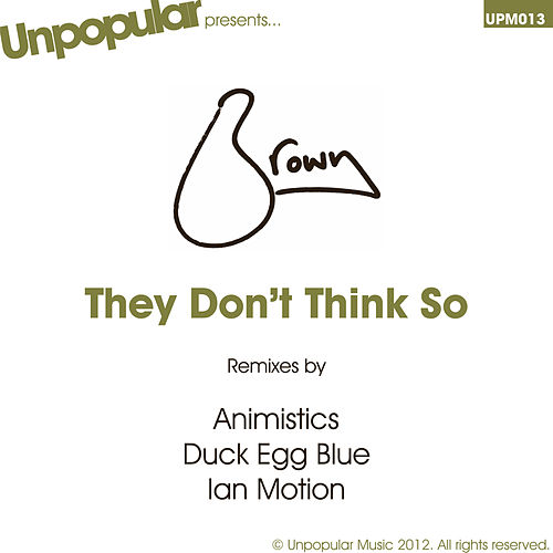 They Don't Think So by Brown (2)