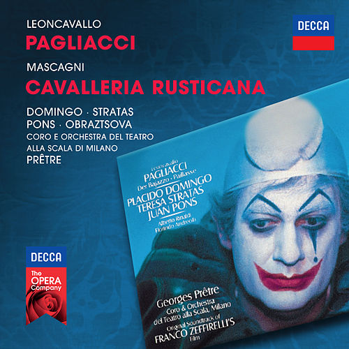 Leoncavallo: Pagliacci / Mascagni: Cavalleria Rusticana von Plácido Domingo