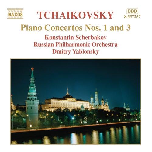 Piano Concertos Nos. 1 and 3 fra Pyotr Ilyich Tchaikovsky