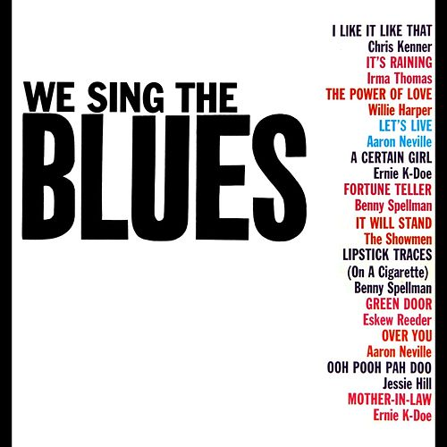 We Sing The Blues by Various Artists