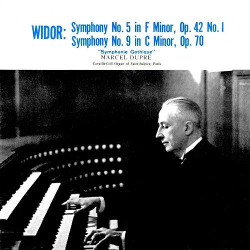Widor Symphony No 5 & 9 by Marcel Dupre