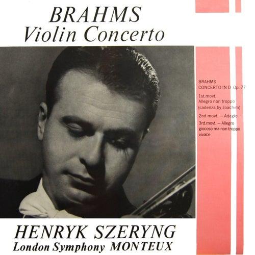 Brahms Violin Concerto de Henryk Szeryng