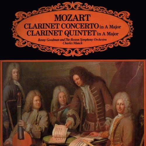Mozart: Clarinet Concerto In A Major/Clarinet Quintet In A Major de Benny Goodman