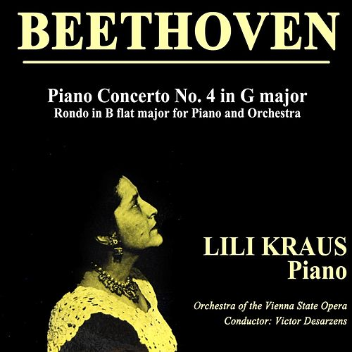 Beethoven Concerto No. 4 In G Major, Op. 58 de Lili Kraus
