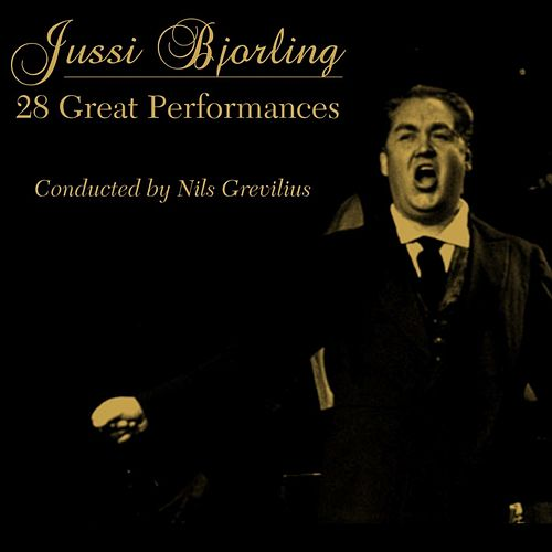 28 Great Performances von Jussi Bjorling