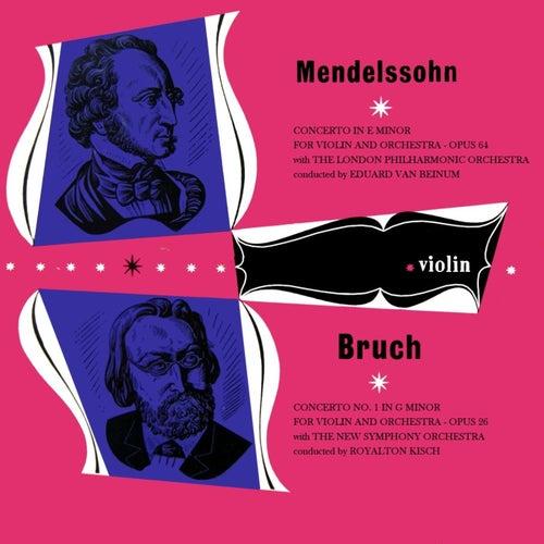 Mendelssohn & Bruch de London Philharmonic Orchestra