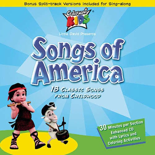 Songs Of America de Cedarmont Kids