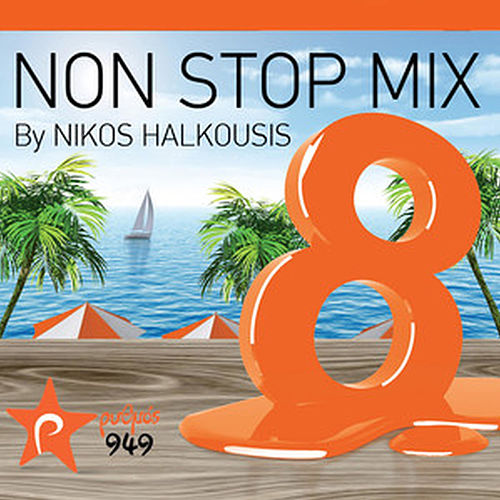 Nikos Halkousis Non Stop Mix, Vol. 8 (Dj Mix) de Various Artists