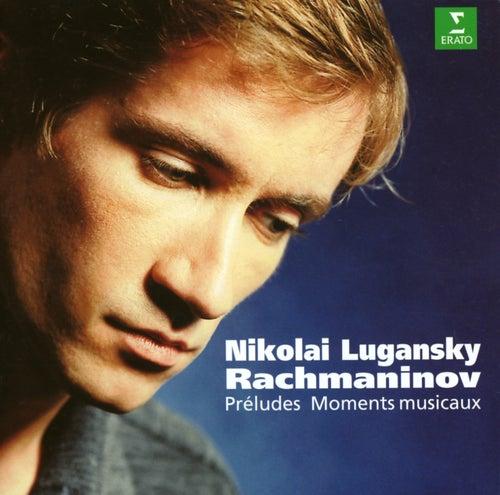 Rachmaninov : Preludes Op.23 & Moments musicaux de Nicolai Lugansky