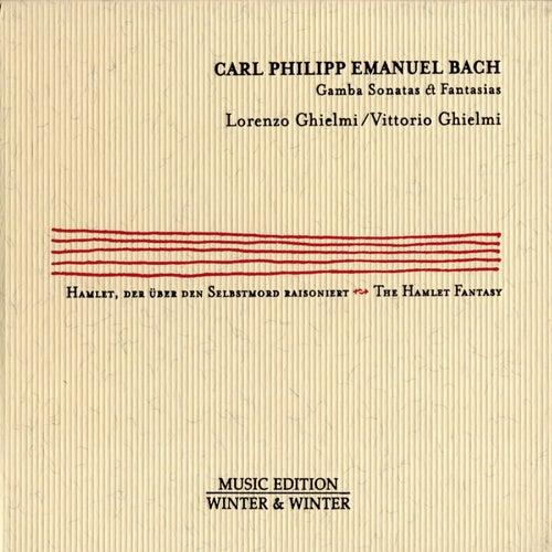 Carl Philipp Emanuel Bach: Gamba Sonatas & Fantasias von Lorenzo Ghielmi