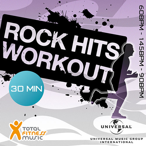 Rock Hits Workout 60 - 145 - 90bpm Ideal For Cardio Machines, Circuit Training, Jogging, Gym Cycle & General Fitness di Various Artists
