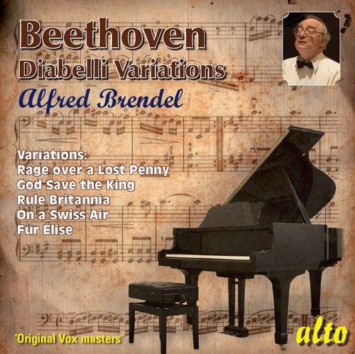 Beethoven: Diabelli Variations; other variations; Fur Elise by Alfred Brendel