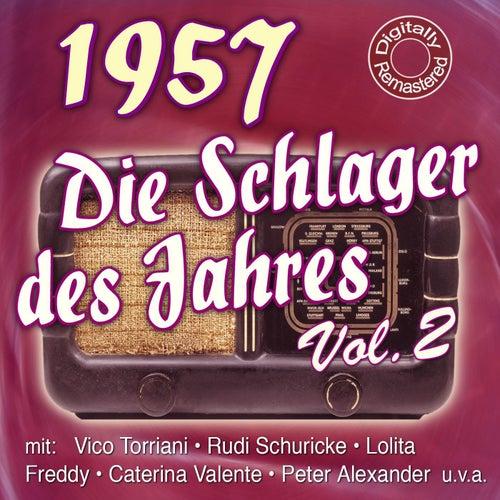 Die Schlager des Jahres 1957 Vol.2 de Various Artists