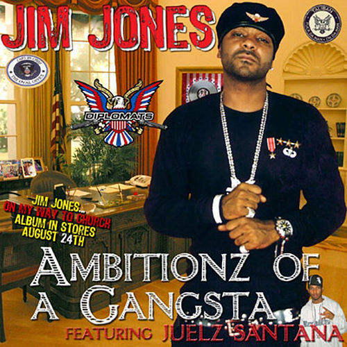 Ambitionz of a Gangsta von Jim Jones